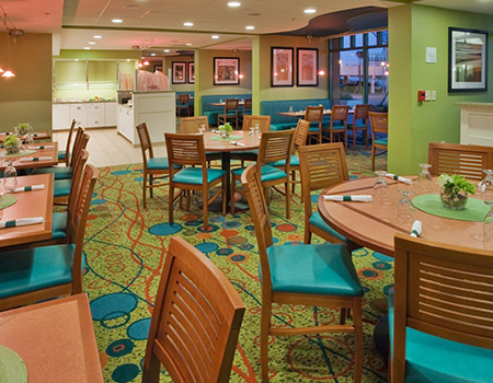 the greenery restaurant holiday inn virginia beach