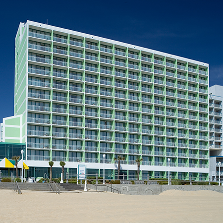 holiday inn va beach oceanside